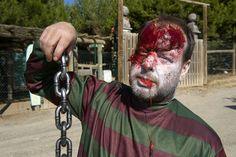 Zombies como este aparecerán cuando menos te lo esperes en Sendaviva en Halloween.