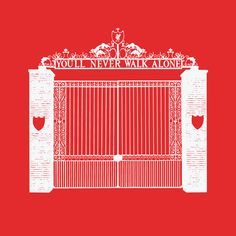 Liverpool FC Shankly Gates Bill Shankly, You'll Never Walk Alone, Liverpool Fc, Handmade Gifts, Fifa, Gates, Crafts, Etsy, Hearts