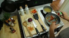 The Stove Top / Counter Top gives you an extra 275 square inches of counter space and doubles as a cutting board!
