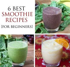 6 Best Smoothie Reci