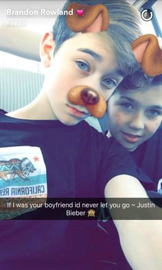 Brandon and Ashton Ashton Rowland, Brandon Rowland, Snapchat, Cute 13 Year Old Boys, Hunter Rowland, Jacob Sartorius, Cute Teenage Boys, Magcon Boys, Dream Guy