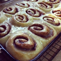Soft Gooey Cinnamon Rolls recipe step-by-step picture tutorial