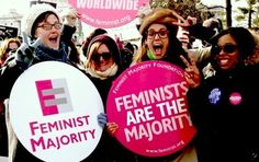 New study finds more than half of female voters are feminists!  Go girls!