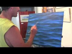 How To Paint Water - Sparkles and Light | Over The Shoulder with Mark Waller - YouTube