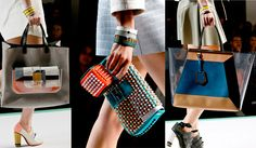 Fendi Spring 2013 Collection: Modern Love