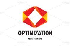 Check out Optimization Logo by serkorkin on Creative Market