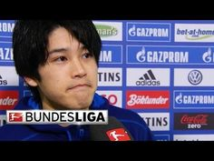 Schalke's Uchida Relieved after Victory - YouTube