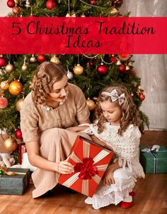 5 Christmas tradition ideas to provide fun and entertainment for years to come.