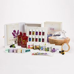 Literally all I want for Christmas is this! :-) Premium Starter Kit with Aria | Young Living Essential Oils