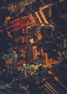 These structures and the color scheme hit exactly my sweet spot. Made by atelier olschinsky.