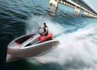 Vanquish Yachts présente un scooter des mers, luxueux et design.