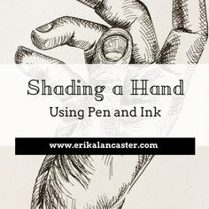 Realistic Drawings Shading a Hand Using Pen and Ink - In this post, I share six essential tips to apply when drawing any kind of subject realistically, as well as a video time-lapse of a portrait drawing I created. Realistic Eye Drawing, Realistic Rose, Pencil Drawing Tutorials, Drawing Tips, Drawing Ideas, Manga Drawing, Ink Pen Drawings, Love Drawings, How To Shade