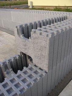 ICF Insulating Concrete Forms are formwork for concrete that stays in place as permanent building insulation for energy-efficient, cast-in-place, reinforced concrete walls, floors, and roofs.