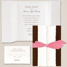 Tuxedo Wedding Invitation | Contemporary Wedding Invitations