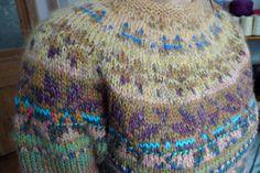 Handmade Icelandic style striped wool sweater with Latvian pattern for women by TASSSHA on Etsy