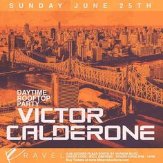 This Sunday #VictorCalderone at #RavelRooftop 8-08 Queens Plaza South Tickets Available Now at www.Mtsproductions.com . . . #TheSundayStandard #RavelSundays #Penthouse808 #RavelHotel #HouseMusic #iLoveHouseMusic #Mtsproductions #Techno #UndergroundHouse #DeepHouse #Trance #EDM #TrapMusic #DanceMusic #NewYorkCity #NYC #NY #EDC #Tomorrowland #Festival #ElectricZoo #WMC #BPM #Electro #ElectronicDanceMusic
