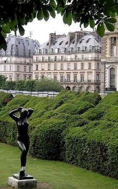 Le Jardin des Tuileries ~ Paris, France