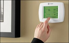 Thermostats allow many options for controlling the comfort levels in your home with ease. Thermostat options include wireless access, programming, remote call in and humidity level controls.