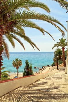 Pathway to the beach | Nerja, Andalusia, Spain