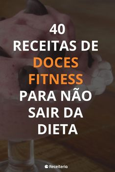 40 Fitness Candy Recipes Not To Go Out Of Diet - Receitas - Comidas Skinny Recipes, Healthy Recipes, Healthy Food, Fitness Diet, Health Fitness, Banana Bread Recipes, Sweet Cakes, Candy Recipes, Healthy Life