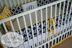 Custom Baby Crib Bedding Design Your Own  by MissPollysPieceGoods, $340.00