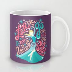 Frozen: Let It Go Mug #disney #frozen #elsa