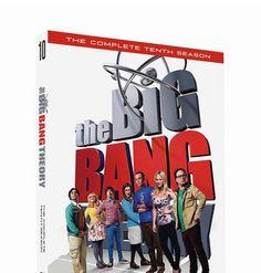 The Big Bang Theory: Season 10 (DVD 2017 3-Disc Set) - Brand New