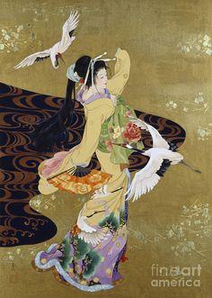 鶴の舞 Haruyo Morita