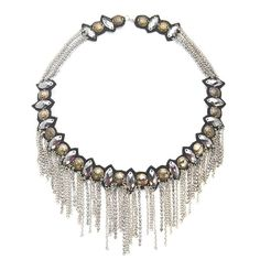 Suzanna Dai - Chain Statement Necklace