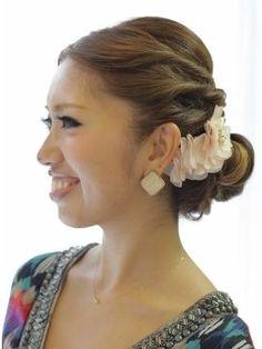 【最新】前髪アップ・センターパートのヘアアレンジ集*フルアップ* - NAVER まとめ