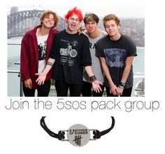 """""""5sos pack group"""" by anaf02216 ❤ liked on Polyvore"""