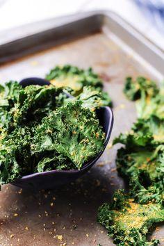 The BEST Kale Chips!! I love the flavor on these. Nutritional yeast is the key!