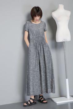 33e59f9f969 2749 Best Linen Dresses for summer images in 2019