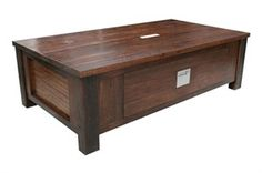 Rikki Coffee Table: JIMMY POSSUM's extensive Rikki range represents a clean and contemporary look, featuring magnificent recycled Australian hardwood. Furniture Making, Coffee Tables, Storage Chest, Hardwood, Recycling, Range, Cleaning, Cabinet, Contemporary