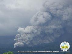 Volcanoes Today, 1 Oct 2015: Santiaguito volcano, Fuego, Suwanose-jima