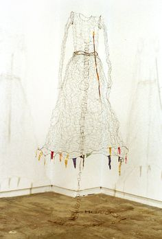 lesley dill wire dress