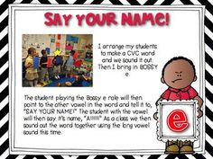 Mastering CVCe words with Sam Shorty, Larry Long, and Bossy e!