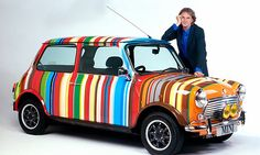 Diary Of A Radical Conformist — inpraiseofengland:   Paul Smith and a Mini in the...