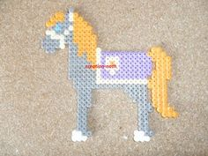 Cheval hama beads by creation-nath
