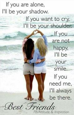101 Best Friend Quotes You'll Love! Best Friend quote