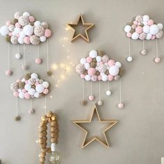 Short Coral Velvet Hairball Newborn Baby In The Crib Infant Room Decor Photography Props Baby Bedroom Decoration Pacifying Toys - Kinderzimmer Baby Bedroom, Baby Boy Rooms, Baby Room Diy, Baby Bedding, Diy Baby, Nursery Room Decor, Bedroom Decor, Diy Girl Room Decor, Cloud Nursery Decor