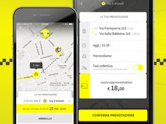 Mobile App for Sharing Taxi