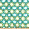 Moda Seascapes Gifts From The Sea Caribbean Blue - Discount Designer Fabric - Fabric.com
