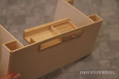 Today's post is a step by step tutorial on making a miniature island. The design includes a breakfast bar, a working set of drawers, and sp...