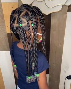 Black Kids Braids Hairstyles, Natural Hairstyles For Kids, Braids For Black Hair, Toddler Braided Hairstyles, Easy Hairstyles, Braided Hairstyles Tutorials, Braided Hairstyles For Black Women, Braided Hairstyles For Wedding, Black Girl Braids
