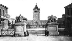 In 1865 more than a hundred private slaughterhouses in Budapest were shut down mainly for the reasons of public health. In 1868 it was decided to build a public slaughterhouse and cattle market on… Serbian, Budapest Hungary, Eastern Europe, Old Photos, Big Ben, Louvre, Public, Country, Places