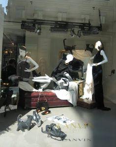 Lanvin window display