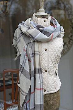 Barbour Summer Dress Tartan Wrap