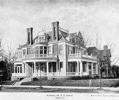 "The Margaret Mitchell House, seen here in its original form, is a turn-of-the century, three-story, Tudor Revival building where Margaret Mitchell lived and wrote her Pulitzer-Prize winning book, ""Gone With the Wind"". Built in 1899 by Cornelius J. Sheehan, the single-family home on fashionable Peachtree Street was converted into a ten-unit apartment building in 1919. Mitchell and her husband, John Marsh, moved into Apartment No. 1 in 1925, when the building was known as the Crescent…"