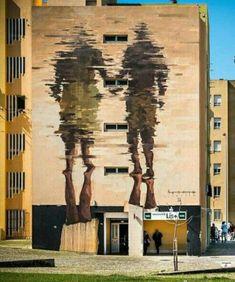 Street Art by Borondo